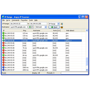 ANGRY IP SCANNER 2.21